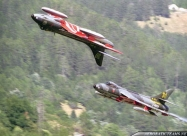 Patrouille Suisse Hawker Hunter Mk.58, second livery