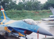 Elang Biru F-16A