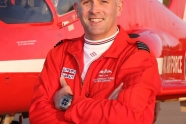 Former Red Arrows pilot to fly as Red 3 until the crash pilot recovers