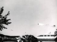 Thunderbirds F-105B Thunderchief. May 9th, 1964 Hamilton airbase, California Captain Gene Devlin F-105 crash