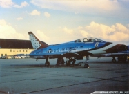 Thunderbirds F-100F Super Sabre, two seat aircraft