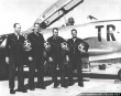 Comets aerobatic team pilots