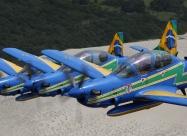 Esquadrliha da Fumaca EMB-314 (A-29 Super Tucano). Photo by squadron official site