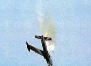 Silver Falcons MB-326 Impala. #5 crash on 2 Oct 1993