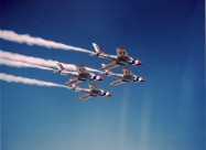 Thunderbirds F-84F Thunderstreak, 1955 only
