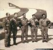 Golden Crown F-84G Thunderjet pilots