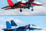 Swifts and Russian Knights received new livery