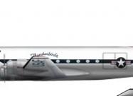Thunderbirds Douglas C-54 Skymaster