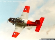 Red Checkers CT-4B Airtrainer, first paint scheme from 1980 to 1994
