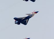 August 1st Chengdu J-10 first livery. Photo by Weimeng