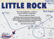 Little Rock flyover map