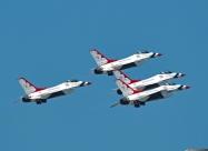 Thunderbirds take off, June 24
