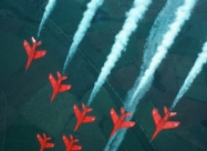 Red Arrows Folland Gnat