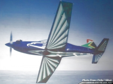 Silver Falcons PC-7, present paint scheme from 2008