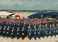 Blue Angels and Thunderbirds reunion