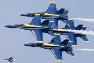 Blue Angels delay practice flights until August