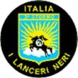 Lanceri Neri aerobatic team logo