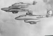 RAF Meteorites Gloster Meteor T7