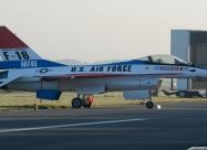 The prototype of F-16