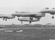 Patrouille de France Mystere IV from 1957 to 1964