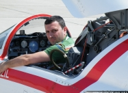 Me at the NF-5A cockpit