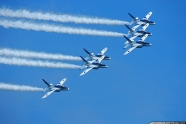 Japan's aerobatic team Blue Impulse also honor healthcare workers with flyover Tokyo