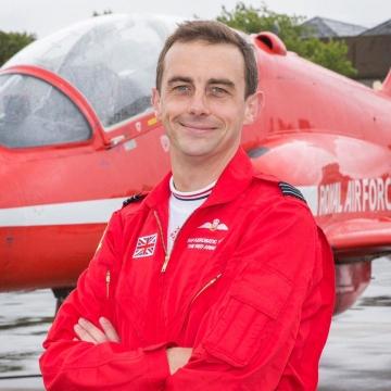 Flight Lieutenant David Stark