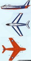 Hellenic Flame Canadair CL-13 Mk.2 paint scheme