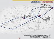 Washington D.C.  flyover map May 2