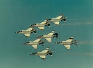 Thunderbirds F-4E Phantom, from 1969 to 1973