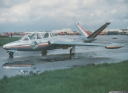 Patrouille De France Fouga Magister first paint scheme