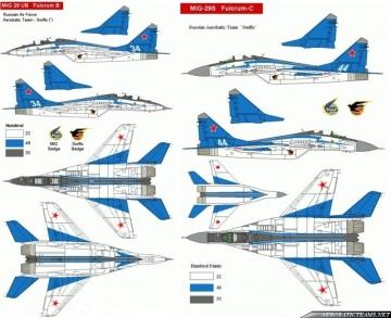 Swifts MiG-29 old paint scheme