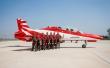 Surya Kiran BAe Hawk Mk132 pilots. Photo via Tony R