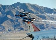 Blue Angels F-4J Phantom II and Thunderbirds F-4E