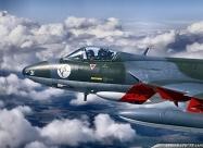 Patrouille Suisse Hawker Hunter Mk.58