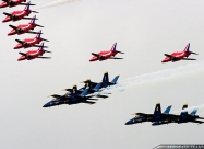Blue Angels and Red Arrows