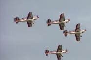 Halcones aerobatic team plane crashed into a city