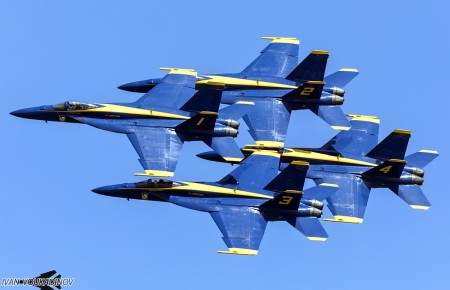 Blue Angels F/A-18 E/F Super Hornet Gallery