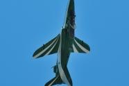 Saudi Hawks plane crashed, pilot eject safely