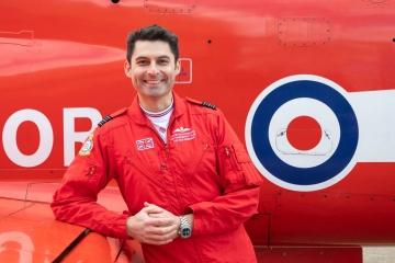 Wing Commander David Montenegro