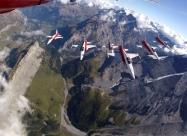 Patrouille Suisse. ©VBS/DDPS – Schweizer Luftwaffe