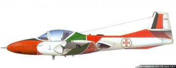 Asas de Portugal Cessna T-37C paint scheme