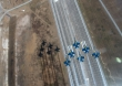 Blue Angels Super Hornets. Source US NAVY
