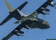 Austrian Air Force Eurofighter and C-130 Hercules