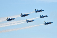 Blue Angels jets collided during joint flypast with Thunderbirds