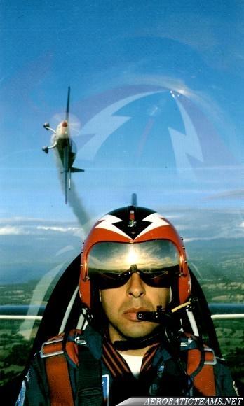 Halcones pilot