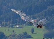 Polish Air Force MiG-29 Fulcrum display team