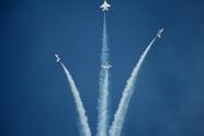 Thunderbirds pilot Maj Del Bagno crash report