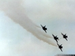 Kiwi Red A-4K Skyhawk airrefueling maneuver