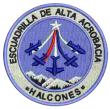 Halcones aerobatic team logo
